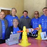 Le challenge organisé le 1er mai par les sapeurs pompiers du centre d'intervention de Camaret