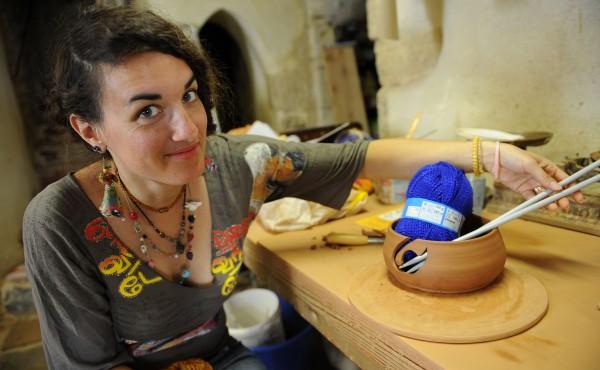 Création d'un pot à laine...