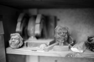 ROBERT RAYNE, photos d'atelier